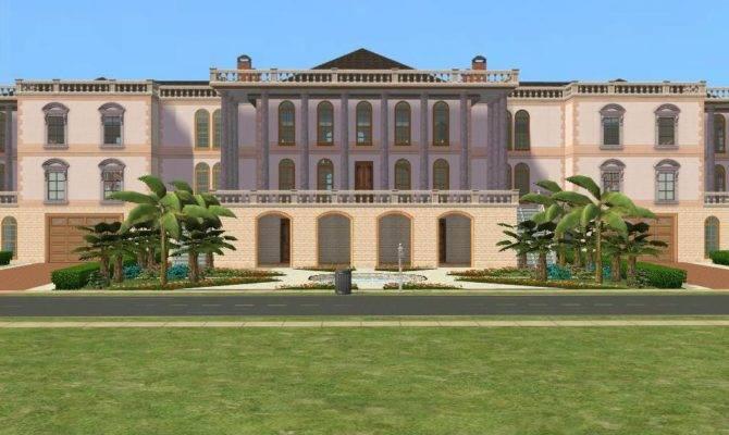 Sims Mansion Ramborocky Deviantart