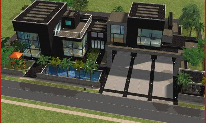 Sims Modern Dream House Ramborocky Deviantart