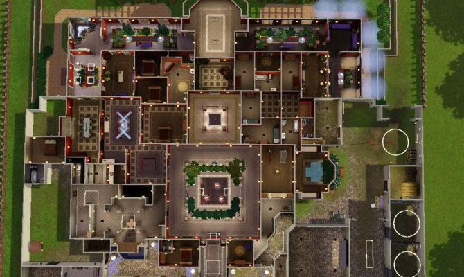 Sims Modern Floor Plans Pinterest