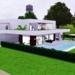 Sims Modern House Designs Cozy