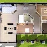 Sims Modern House Floor Plans Mod Estate
