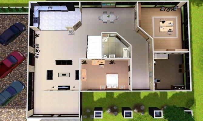Sims Modern House Floor Plans House Plans 78151