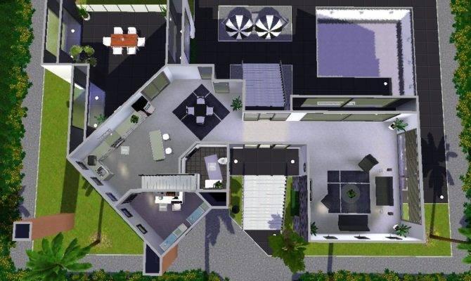 Sims Modern House Plans