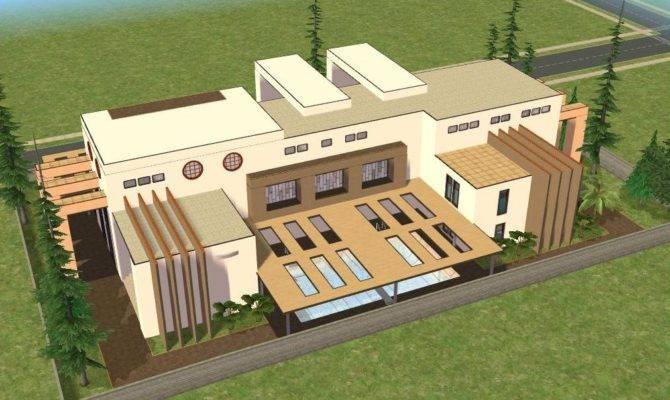 Sims Modern House Ramborocky Deviantart