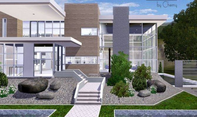 Sims Resource Tsr Fresca Modern House Chemy