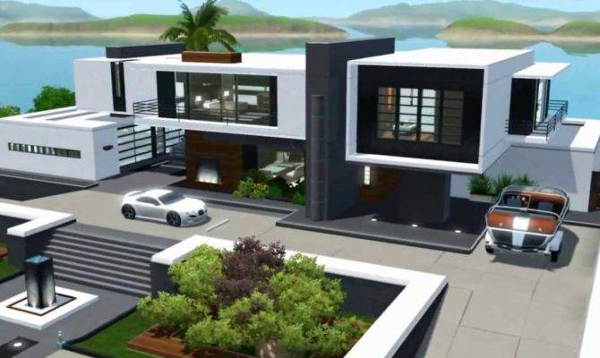 Sims Seaside Modern House Youtube
