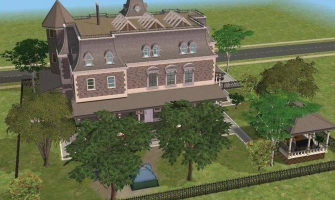 Sims Victorian Mansion Ramborocky Deviantart