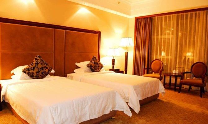 Single Bedroom Decors Stylish Home Designs Luxury Bed Room