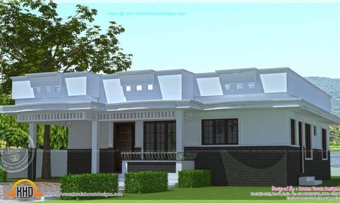 Single Floor House Design Square Feet Indian Plans