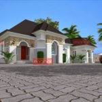 Single Floor House Designs Also Bungalow Philippines Plan