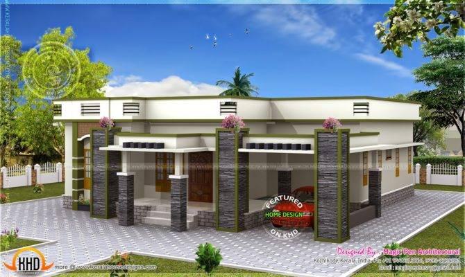 Single Floor House Flat Roof Modern Interior Designs House Plans 77179