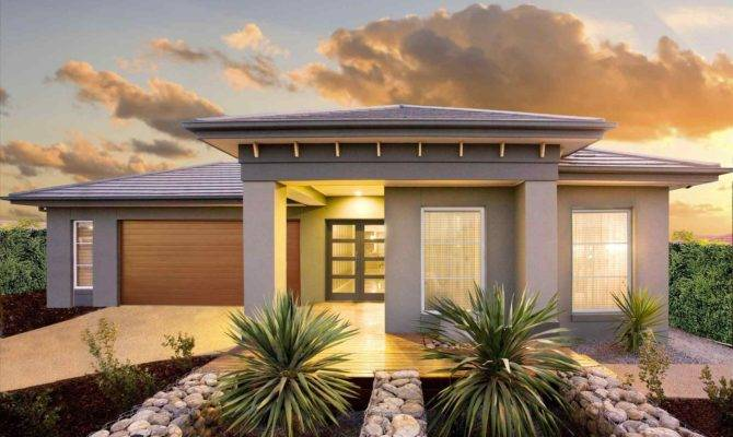 Single Floor Modern House Plans Escortsea