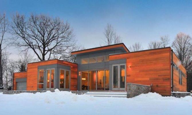 Single House Design Vacation Snowing Area Olpos