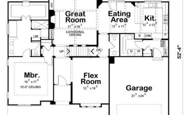 Single House Floor Plans Architectural Designs