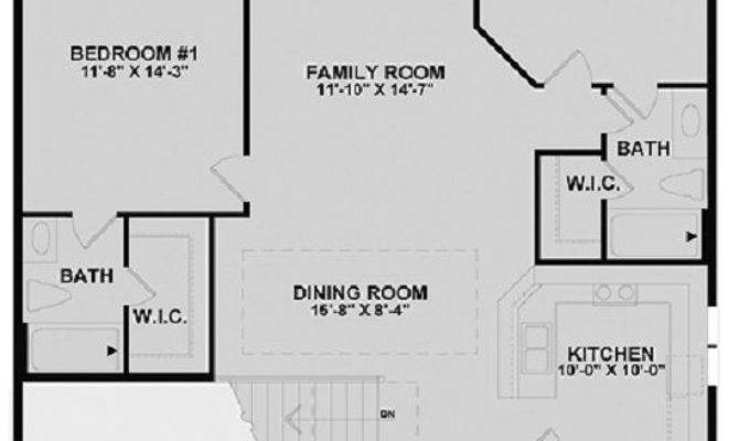 Single House Plans Smalltowndjs