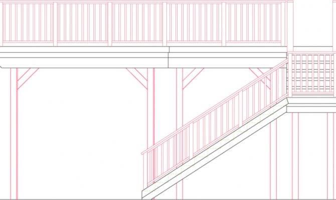Single Level Rectangular Deck Features Large Main