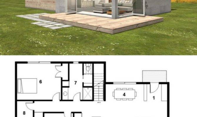 Single Roof Line House Plans Homes Floor