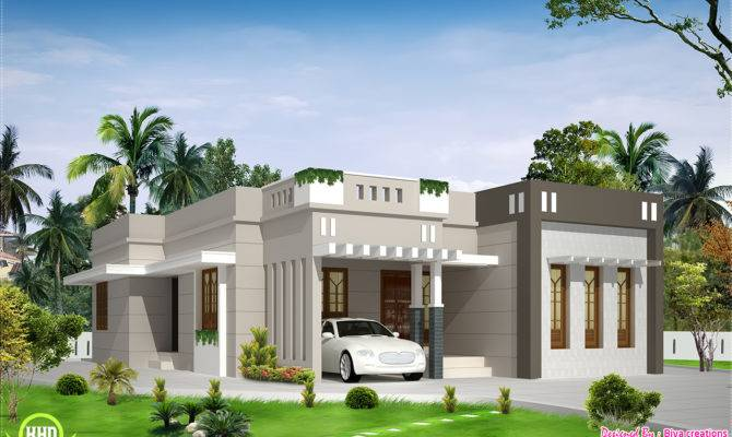 Single Storey Budget House Kerala Home Design Floor Plans
