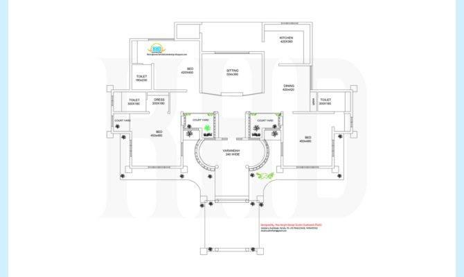 Single Storey Home Design Floor Plan