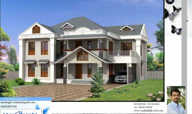 Single Storey Kerala House Model Plans