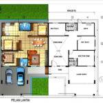 Single Storey Semi Detached House Plans Home Deco