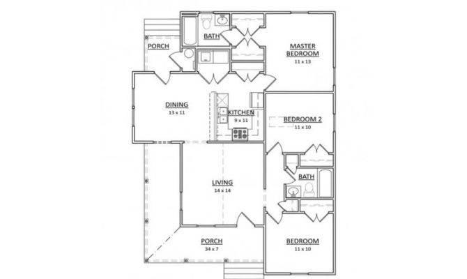 Single Story Bed Bath Narrow Lot Potential Pine Island Home