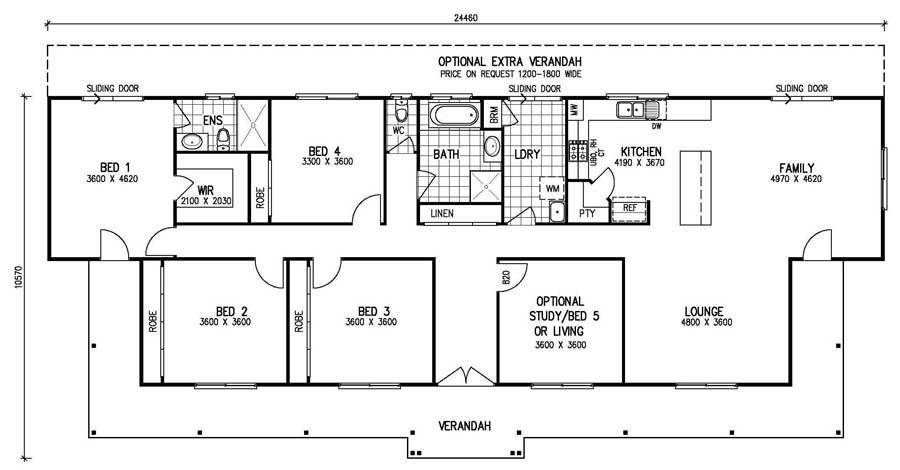 The Most Adorable 9 Of 5 Bedroom Floor Plans 1 Story Ideas House Plans