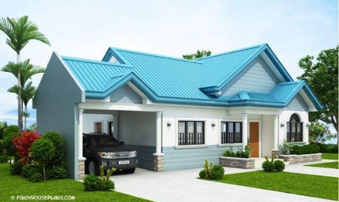Single Story Bungalow Custom Home Designs Three