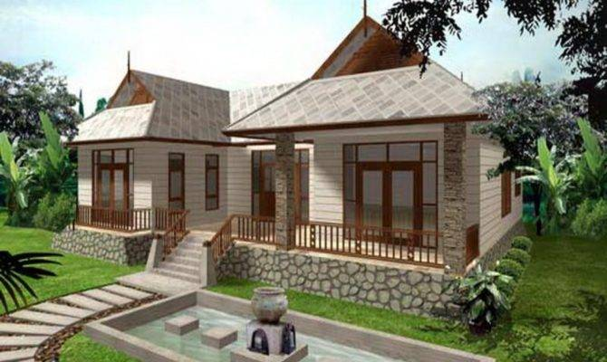 Single Story Bungalow House Modern