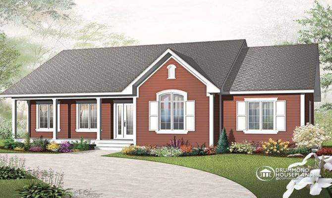Single Story Cottage House Plans