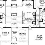 Single Story Craftsman Style House Plans Danutabois