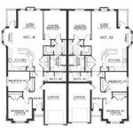 Single Story Duplex Floor Plans Ideas Pinterest