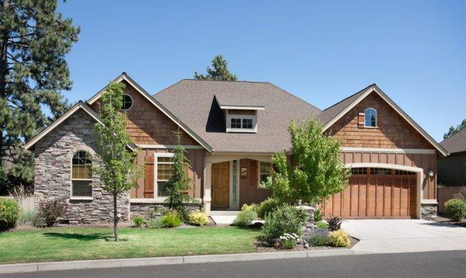 Single Story French Home Plan Craftsman