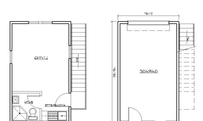 Single Story Garage Apartment Plans Venidami