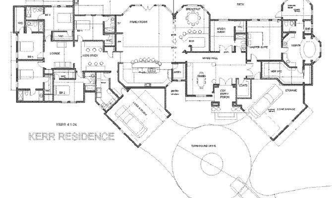 Single Story Luxury Home Designs One Custom Raleigh New
