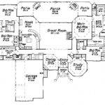 Single Story Luxury House Plans Smalltowndjs