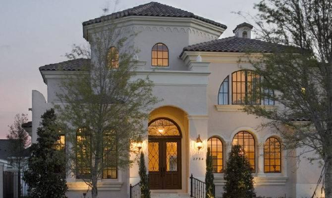 Single Story Mediterranean Style Homes Luxury Simple