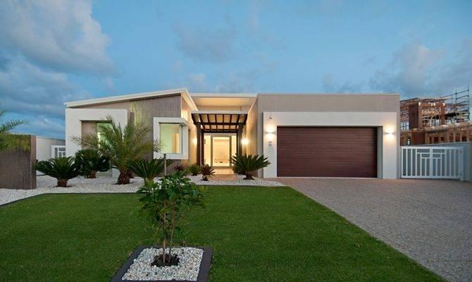 Single Story Modern Home Design House Plan