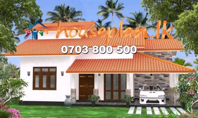 Single Story Modern House Plans Sri Lanka Youtube