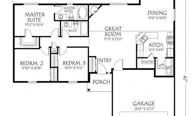 A Peek Inside Single Story Plans Ideas 10 Pictures House Plans