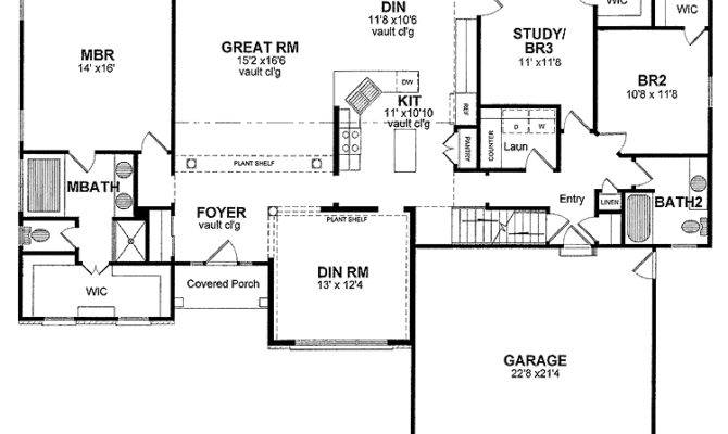 Single Story Ranch House Plans Quotes