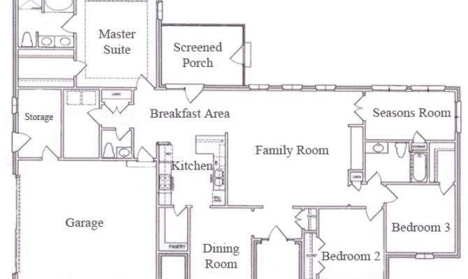 Single Story Ranch Style House Plans Smalltowndjs