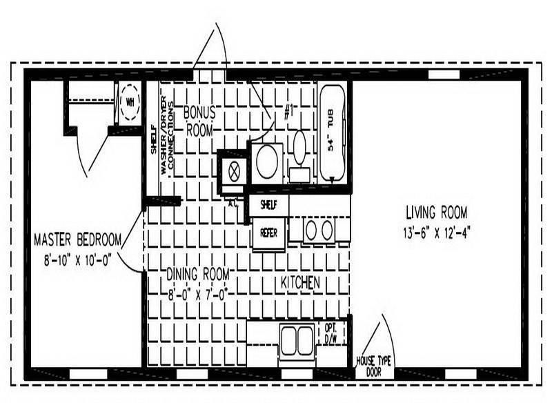 Single Wide Trailer Home Floor Plans Modern Modular ...