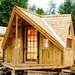 Six Plan Sets Tiny Houses Cabins Shedworking Offices