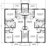 Six Plex Multi House Plan Architectural