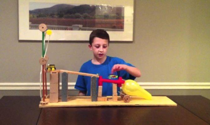 Six Simple Machine Project Using All Machines Rube Goldberg