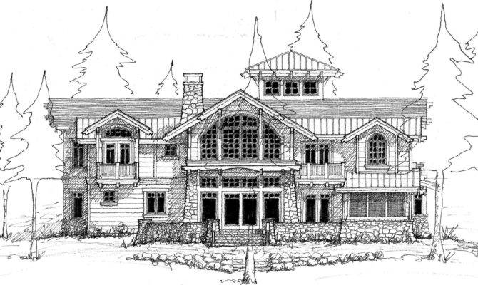 Sketches Reality Designing Waterfront Home Priest