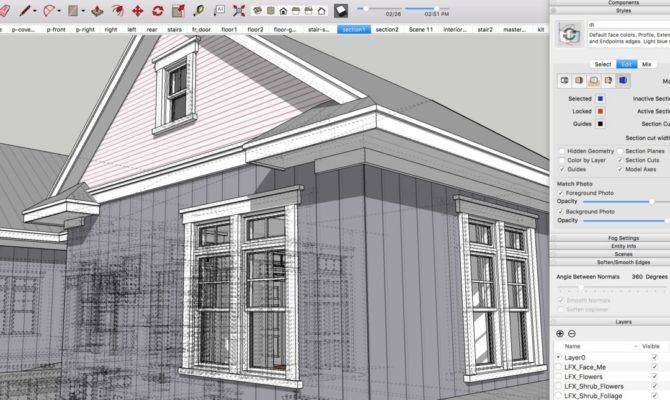 Sketchup Mobile Tyree House Plans