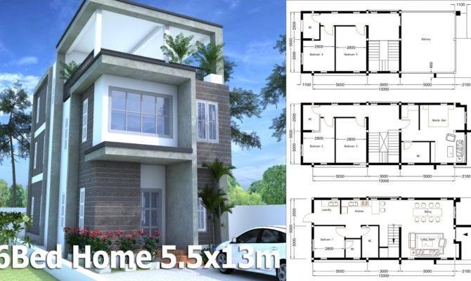 Sketchup Modern Home Plan Bedroom Sam