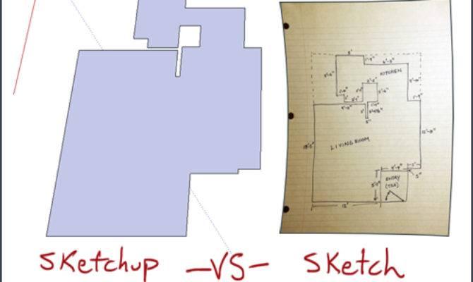 Sketchup Tutorial Create Quick Floor Plan